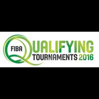 2016 Summer Olympic Games Basketball Qualifying for Men Logo