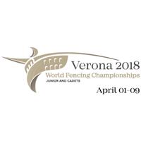 2018 Fencing Cadet And Junior World Championships Logo
