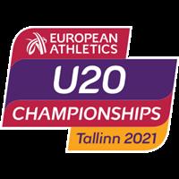 2021 European Athletics U20 Championships Logo