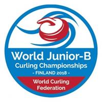 2018 World Junior Curling Championships Division B Logo