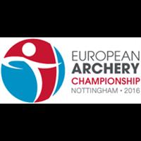 2016 European Archery Championships Logo