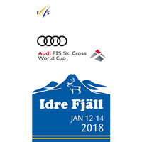2018 FIS Freestyle Skiing World Cup Ski Cross Logo