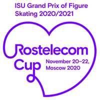 2020 ISU Grand Prix of Figure Skating - Rostelecom Cup Logo