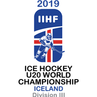 2019 Ice Hockey U20 World Championship Division III Logo
