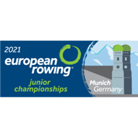 2021 European Rowing Junior Championships Logo