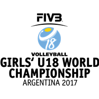 2017 FIVB Volleyball World U18 Girls Championship Logo
