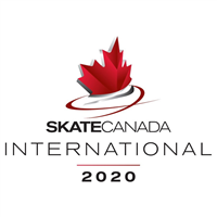 2020 ISU Grand Prix of Figure Skating - Skate Canada International Logo