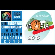2015 FIBA U16 European Basketball Championship - Division B